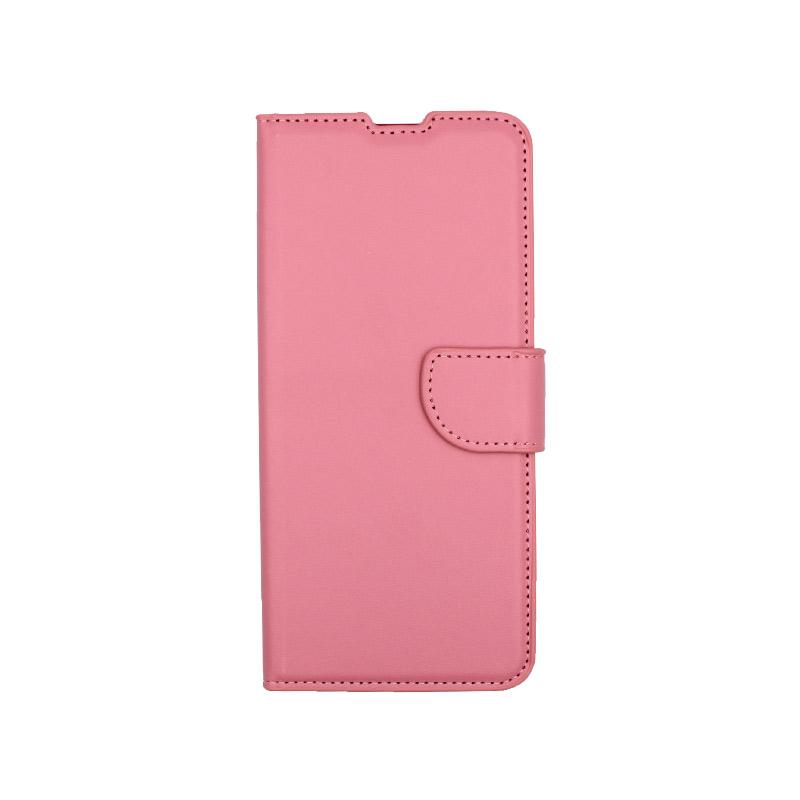 Θήκη Xiaomi Redmi Note 9S / Note 9 Pro / Max πορτοφόλι ροζ 1
