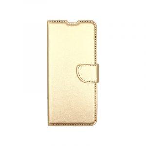 Θήκη Xiaomi Redmi Note 9S / Note 9 Pro / Max πορτοφόλι χρυσό 1