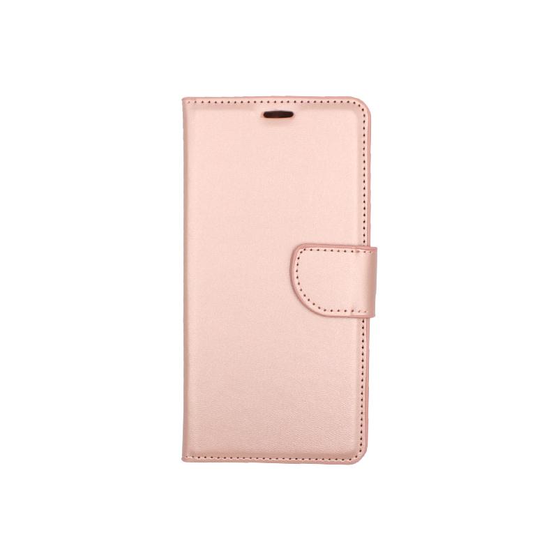 Θήκη Huawei Y6 2018 πορτοφόλι απαλό ροζ 1