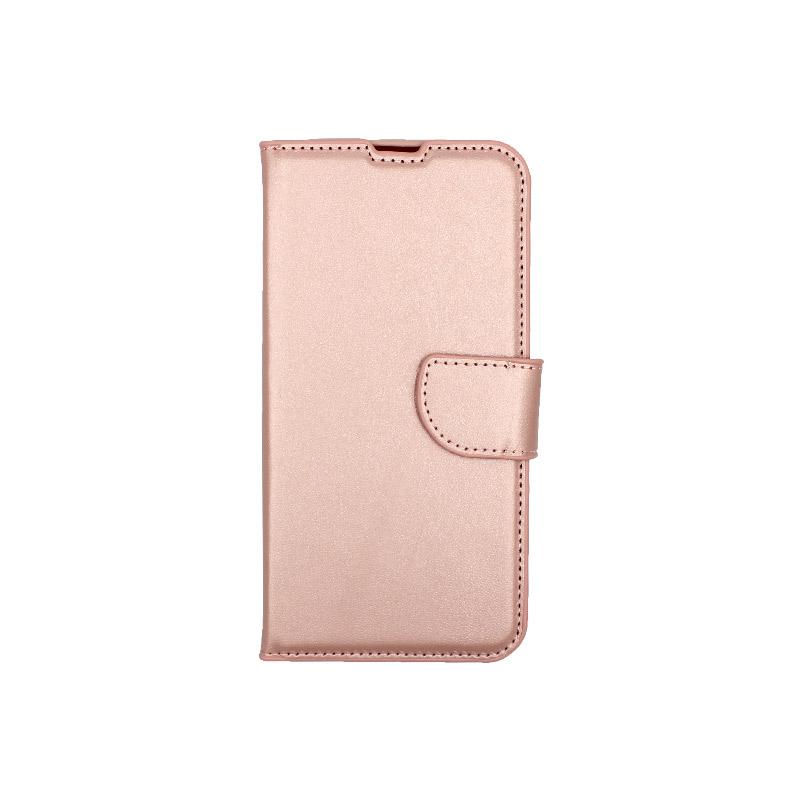 Θήκη Huawei P Smart 2019 πορτοφόλι απαλό ροζ 1