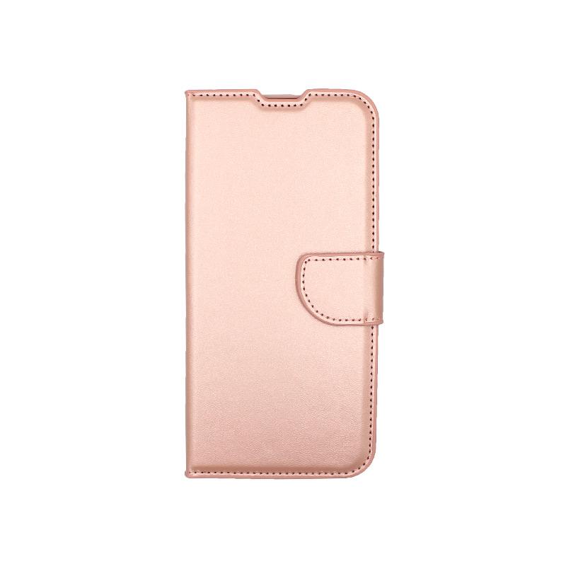 Θήκη Huawei P40 Lite ροζ χρυσό 1