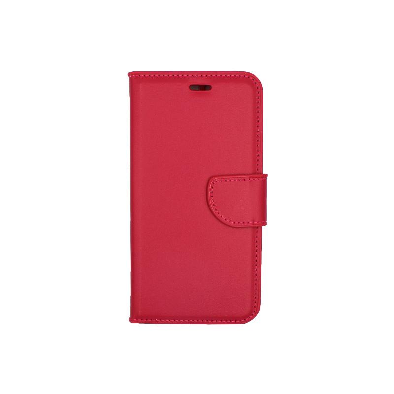 Θήκη Huawei P10 πορτοφόλι φουξ 1