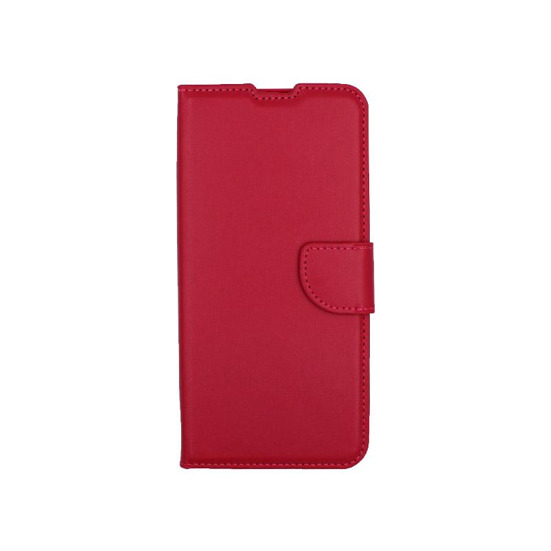 Θήκη Xiaomi Mi Note 10 Lite σκούρο κόκκινο 1
