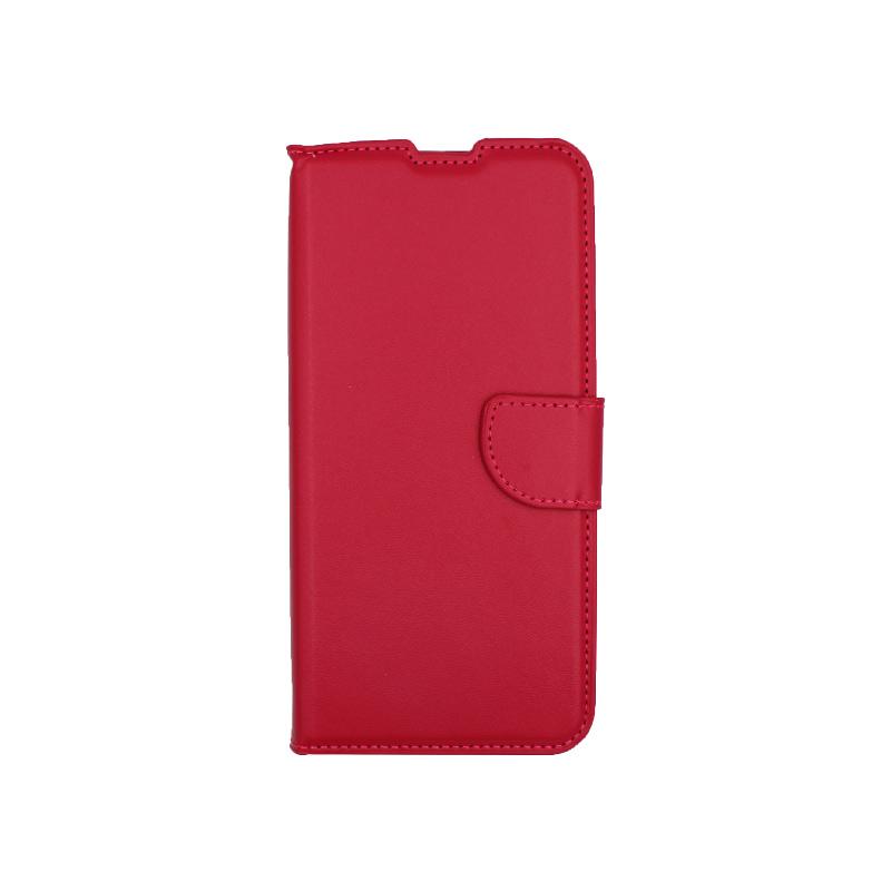 Θήκη Xiaomi Redmi Note 9 πορτοφόλι φουξ 1
