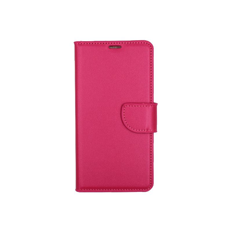 θήκη Xiaomi Mi 8 πορτοφόλι με κράτημα φούξια 1