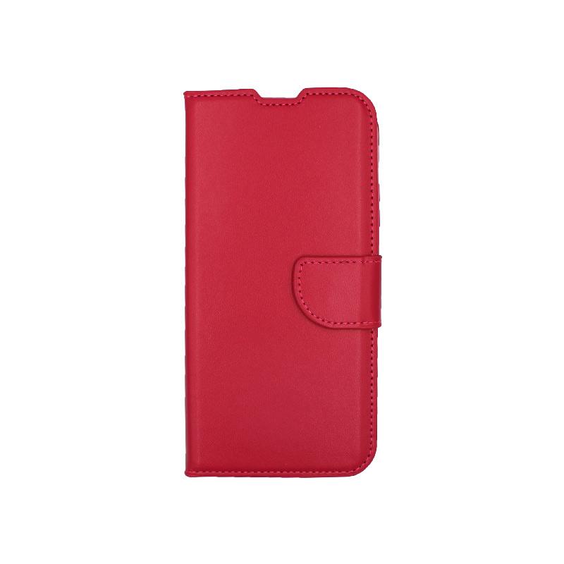 Θήκη Huawei P40 Lite σκούρο κόκκινο 1