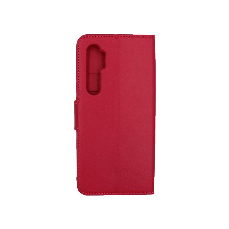 Θήκη Xiaomi Mi Note 10 Lite σκούρο κόκκινο 2