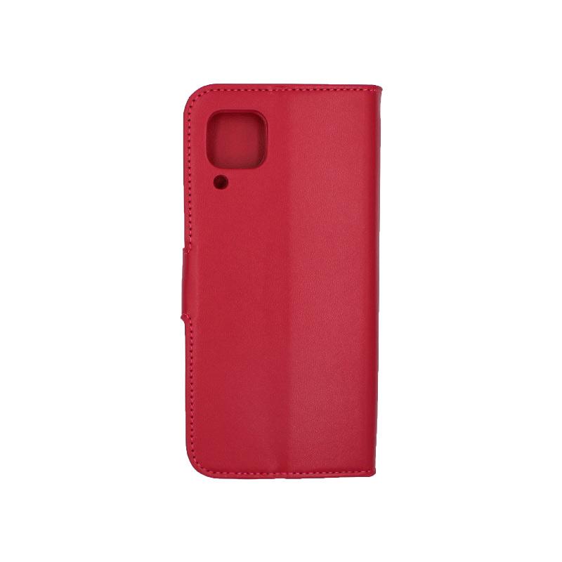 Θήκη Huawei P40 Lite σκούρο κόκκινο 2