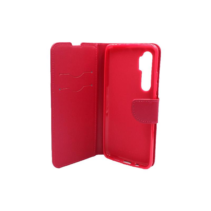 Θήκη Xiaomi Mi Note 10 Lite σκούρο κόκκινο 3