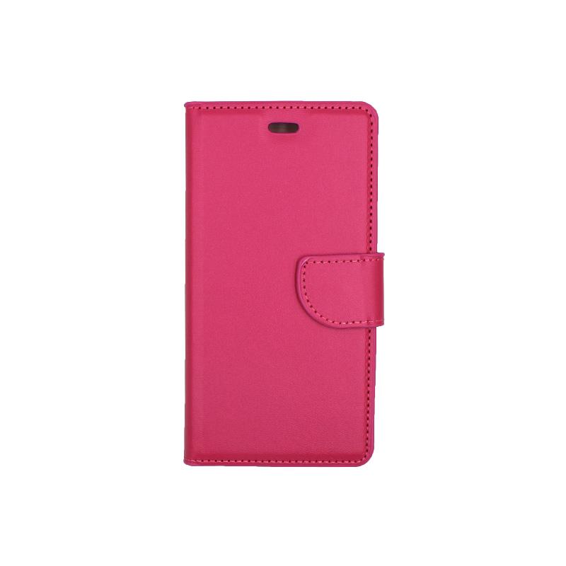 Θήκη Huawei P9 πορτοφόλι φουξ 1