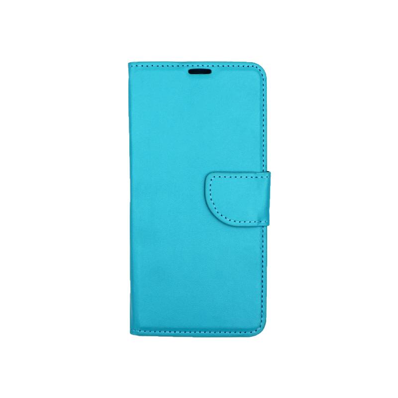 Θήκη Huawei P20 πορτοφόλι γαλάζιο 1