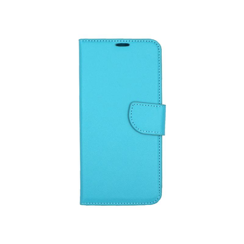 Θήκη Huawei Mate 20 Pro πορτοφόλι γαλάζιο 1