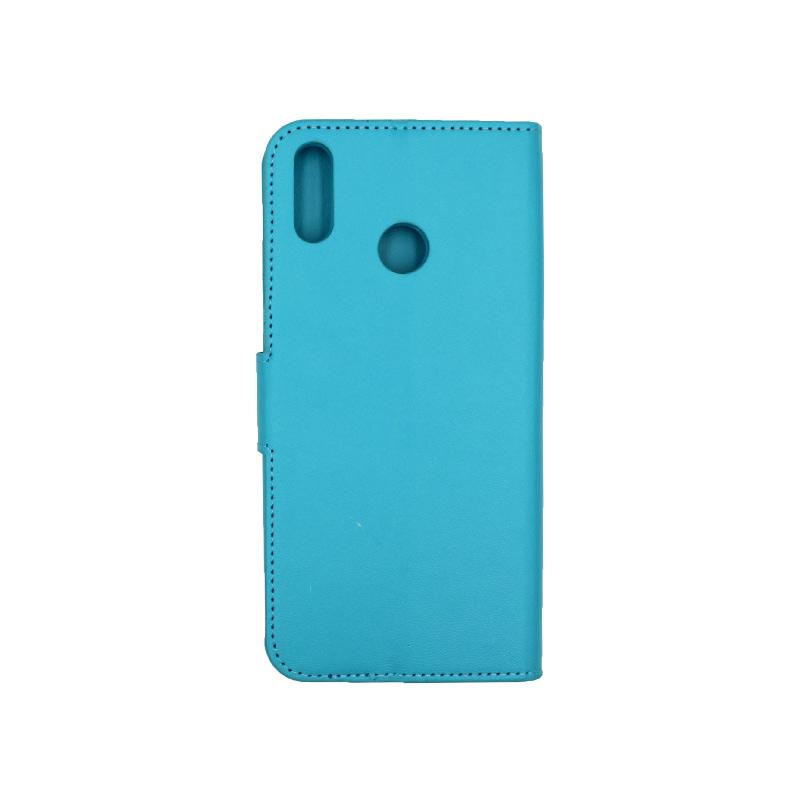 Θήκη Huawei Y9 2019 πορτοφόλι γαλάζιο 2
