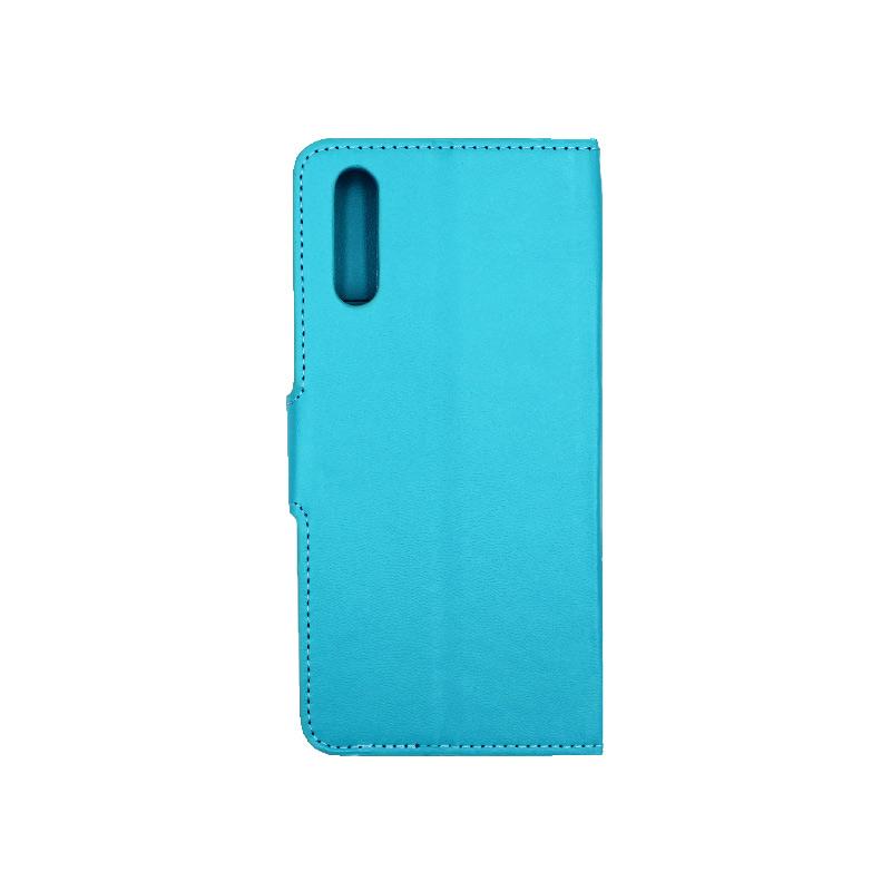 Θήκη Huawei P20 πορτοφόλι γαλάζιο 2