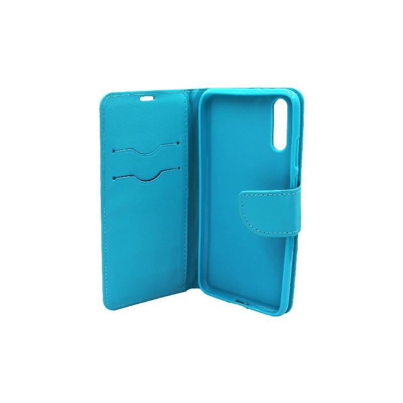 Θήκη Huawei P20 πορτοφόλι γαλάζιο 3