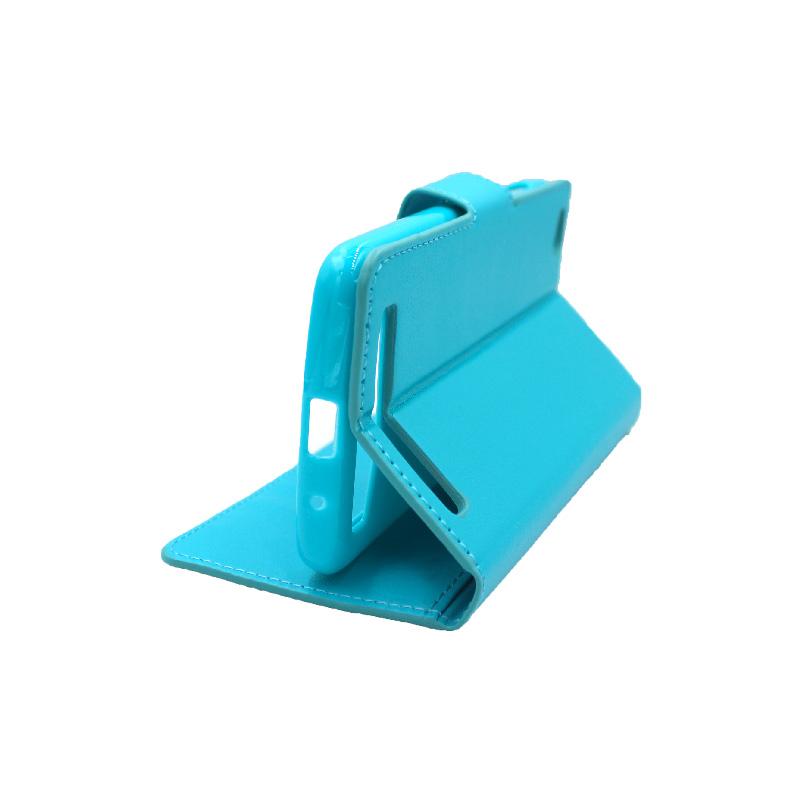 Θήκη Xiaomi Redmi 5A πορτοφόλι γαλάζιο 4