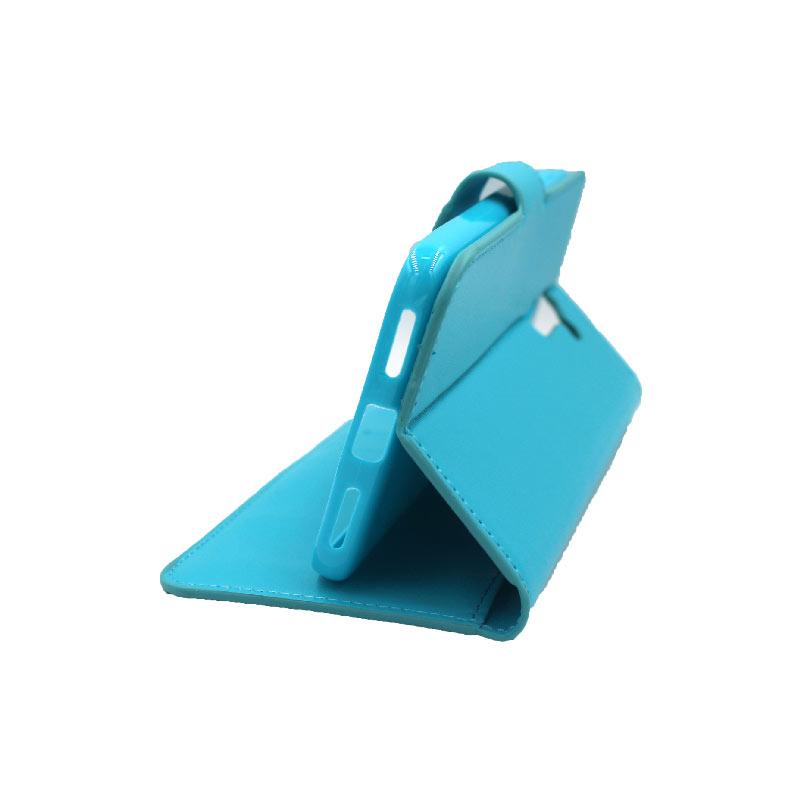 θήκη Xiaomi Pocophone F1 πορτοφόλι με κράτημα γαλάζιο 4