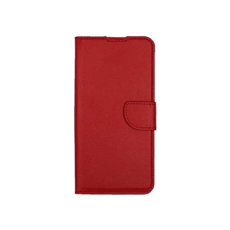 Θήκη Huawei P Smart Z πορτοφόλι κόκκινο 1