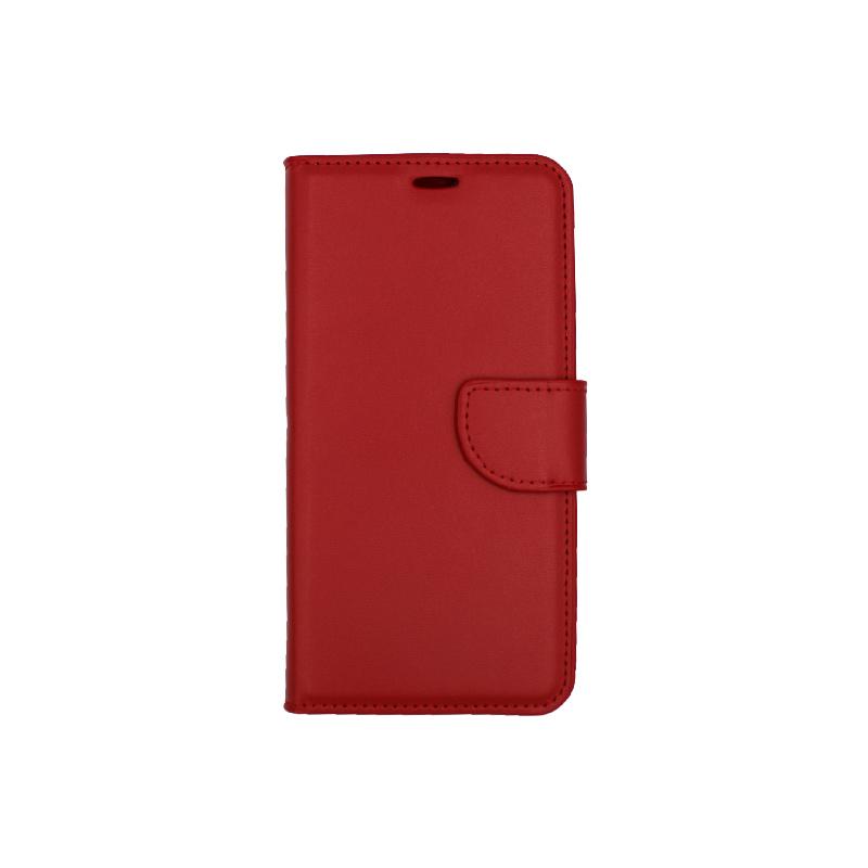 Θήκη Huawei P Smart πορτοφόλι κόκκινο 1