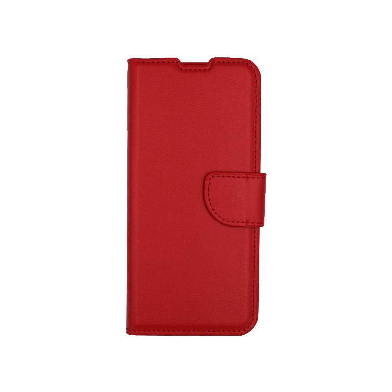 Θήκη Samsung Galaxy S20 πορτοφόλι κόκκινο 1