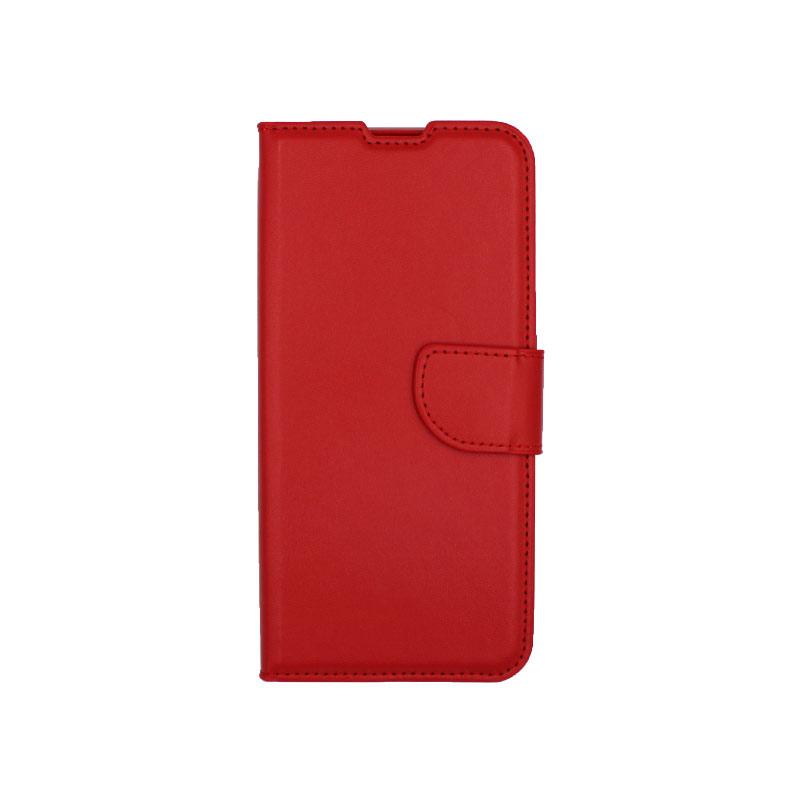 Θήκη Xiaomi Redmi 8 πορτοφόλι κόκκινο 1