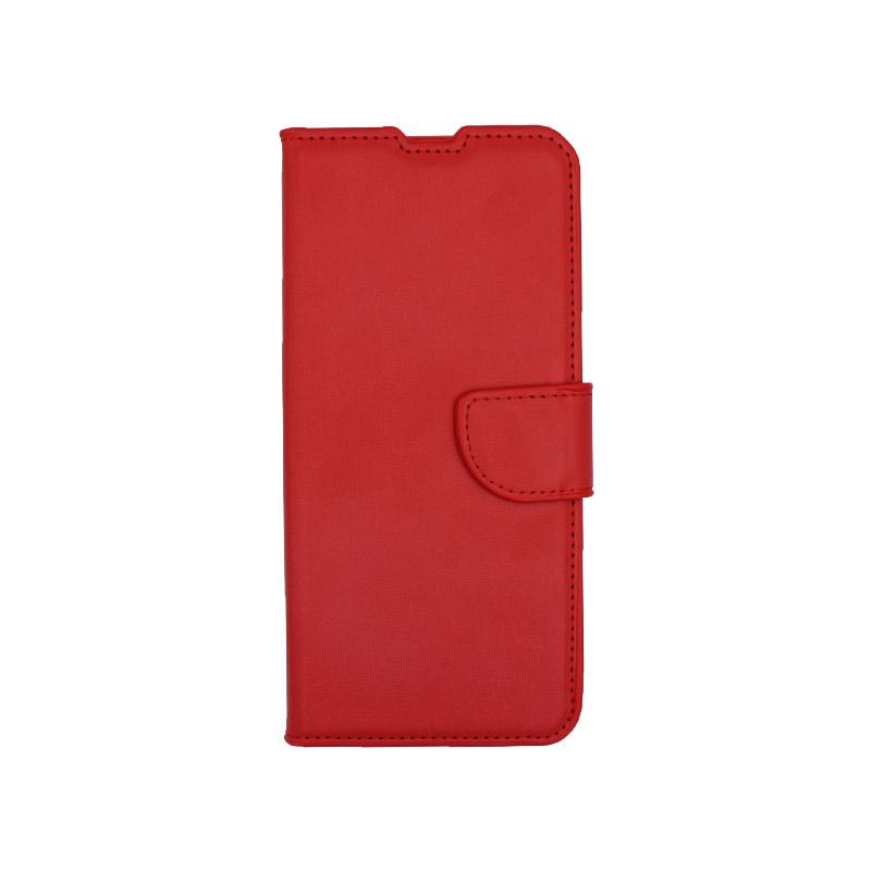 Θήκη Xiaomi Mi Note 10 / Note 10 Pro / CC9 Pro πορτοφόλι κόκκινο 1
