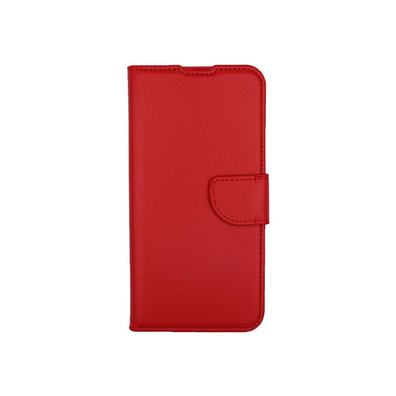 Θήκη Xiaomi Redmi 7 πορτοφόλι κόκκινο 1