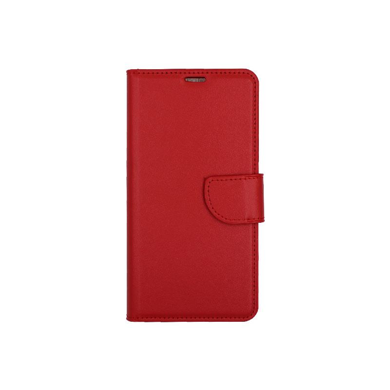 θήκη Xiaomi Mi 8 πορτοφόλι με κράτημα κόκκινο 1