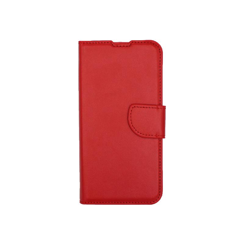 θήκη Xiaomi Mi 9 SE πορτοφόλι με κράτημα κόκκινο 1