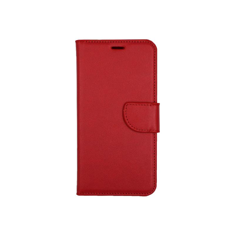 θήκη Xiaomi Pocophone F1 πορτοφόλι με κράτημα κόκκινο 1