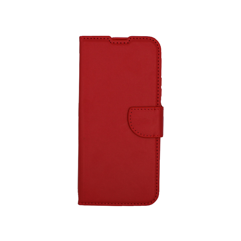 Θήκη Huawei P Smart Pro πορτοφόλι κόκκινο 1