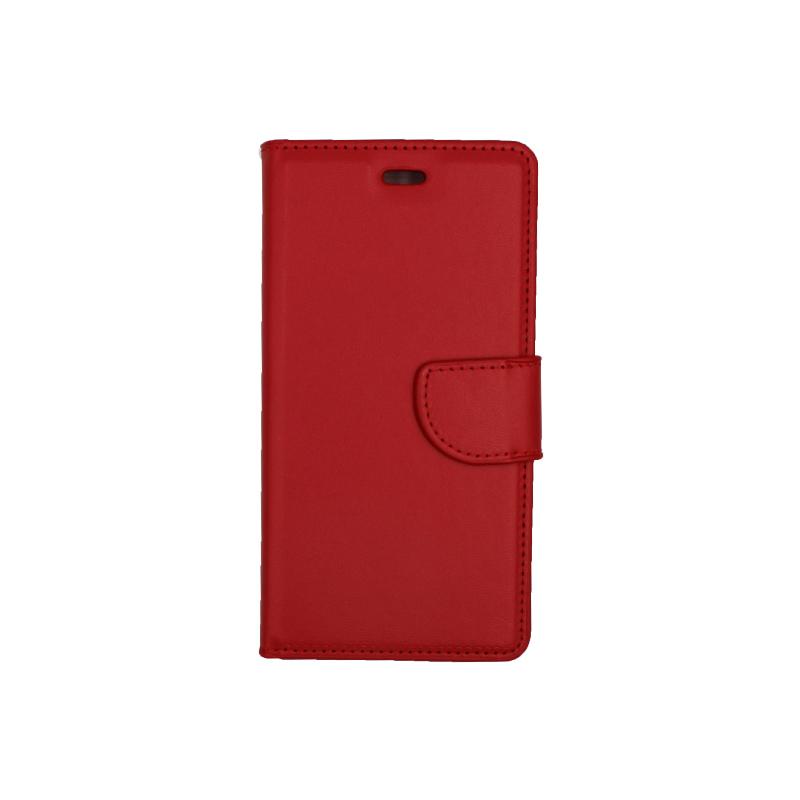 Θήκη Huawei P9 πορτοφόλι κόκκινο 1