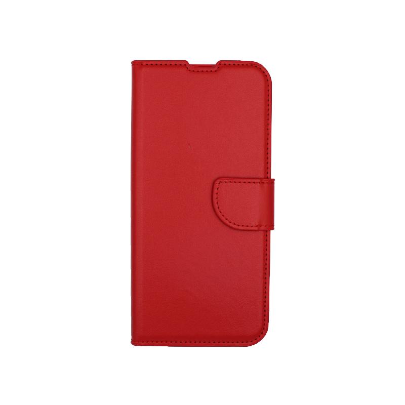 Θήκη Honor 9x πορτοφόλι κόκκινο 1