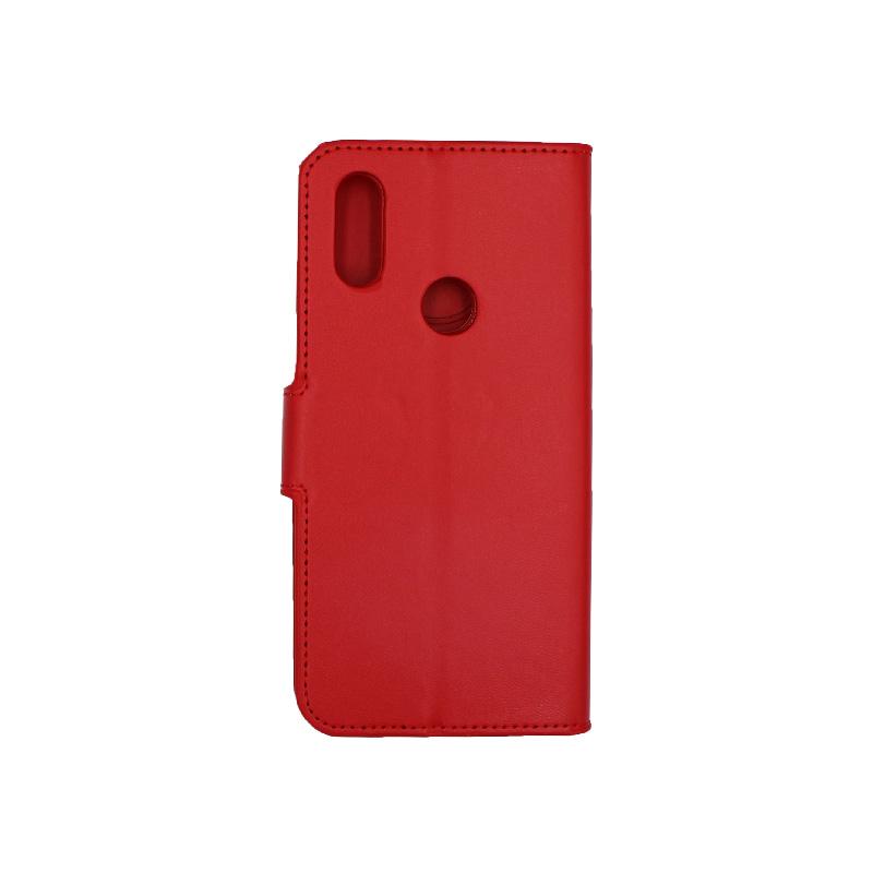 Θήκη Xiaomi Redmi 7 πορτοφόλι κόκκινο 2