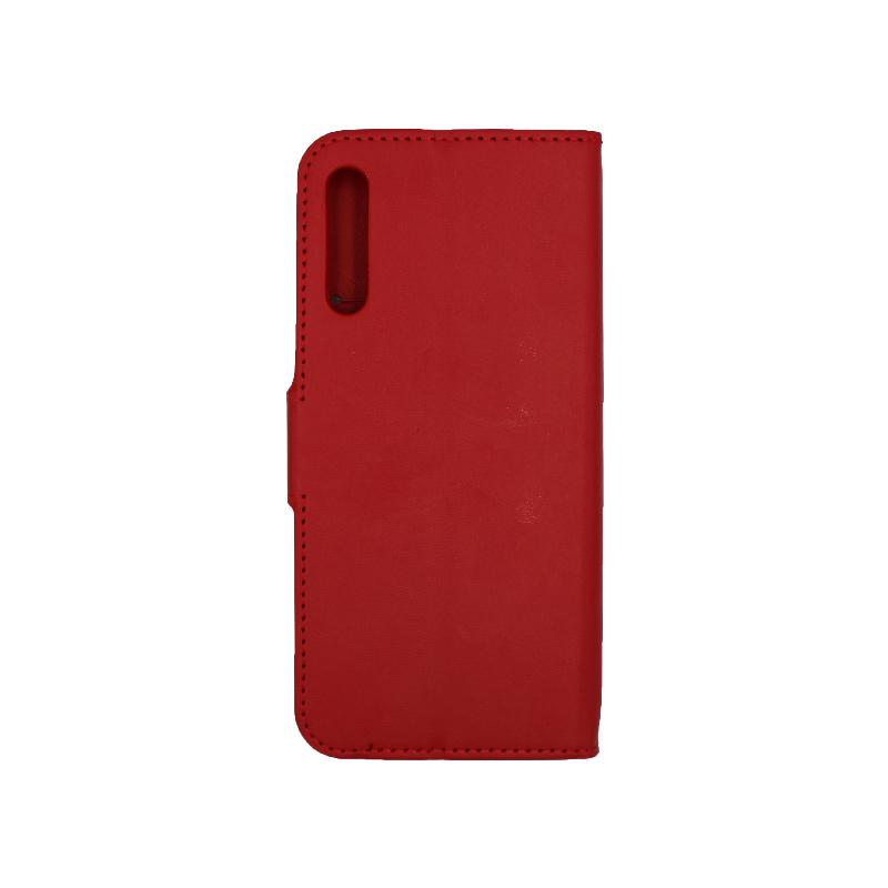 Θήκη Huawei P Smart Pro πορτοφόλι κόκκινο 2