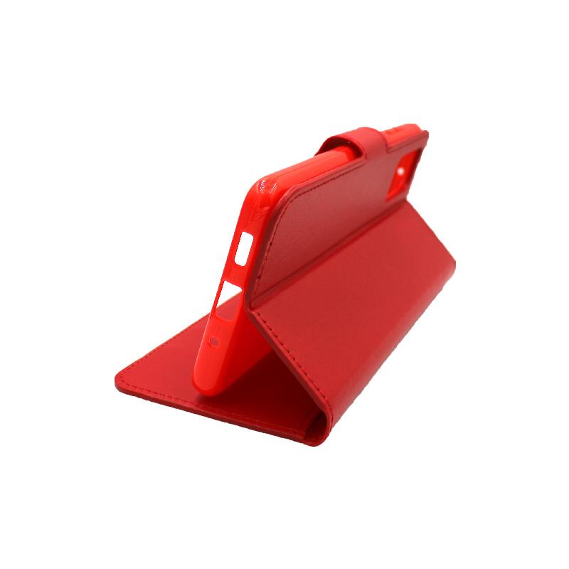 Θήκη Samsung Galaxy S20 Plus πορτοφόλι κόκκινο 4