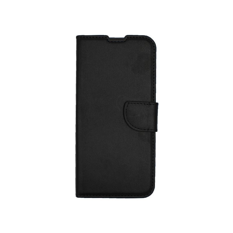 Θήκη Huawei P Smart Pro πορτοφόλι μαύρο 1