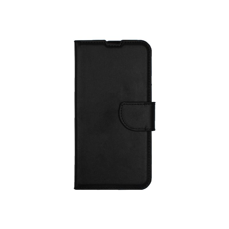 Θήκη Huawei P Smart 2019 πορτοφόλι μαύρο 1