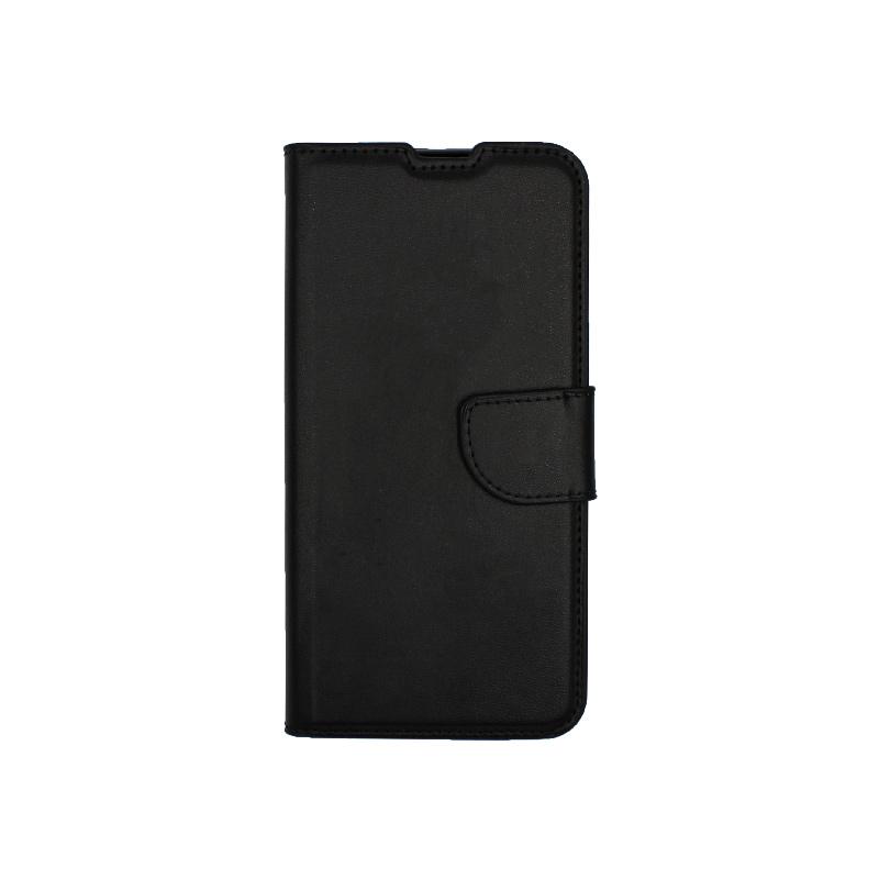 Θήκη Huawei P Smart 2020 πορτοφόλι μαύρο 1