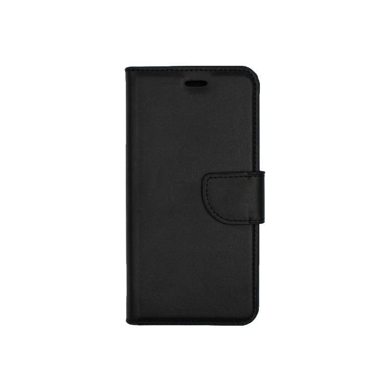 Θήκη Huawei P10 Lite πορτοφόλι μαύρο 1