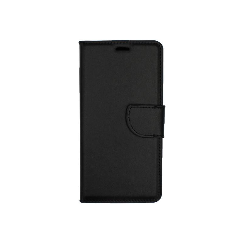 Θήκη Huawei P20 Lite πορτοφόλι μαύρο 1