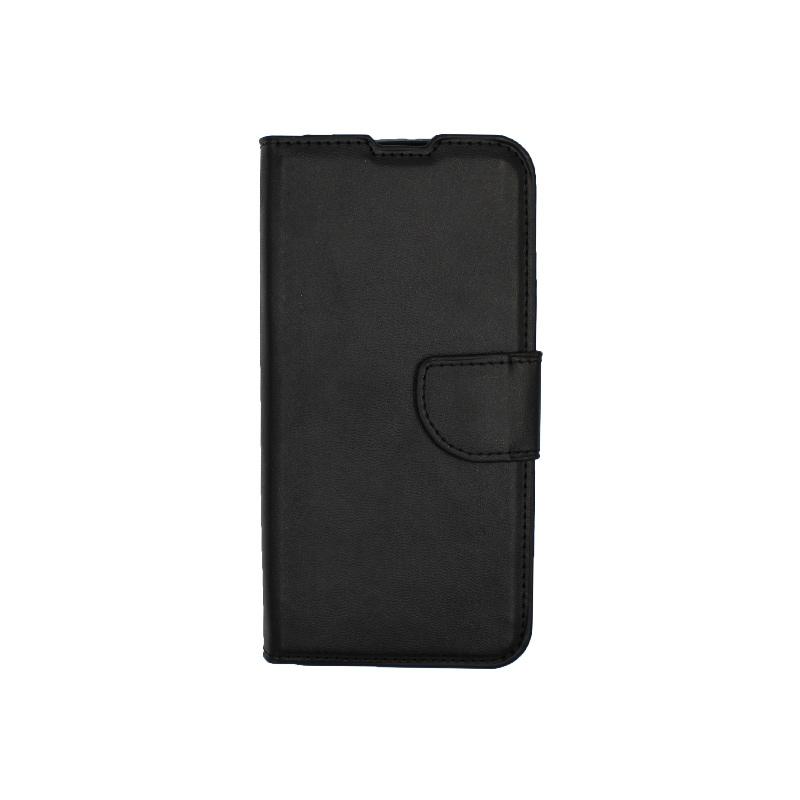 Θήκη Huawei Y5 2019 πορτοφόλι μαύρο 1