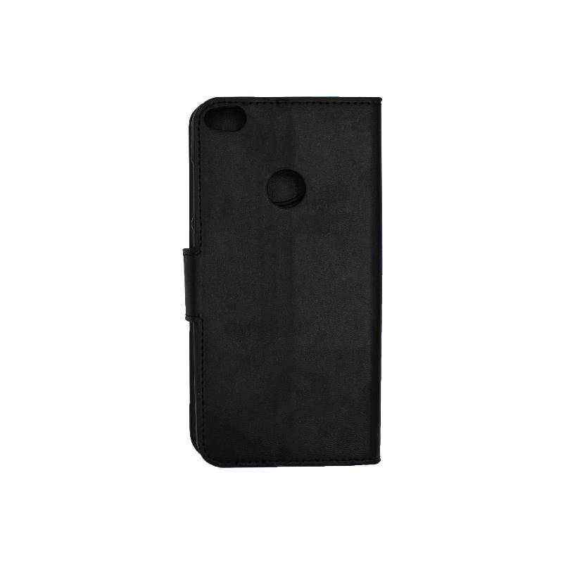 Θήκη Huawei P8 / P9 Lite 2017 πορτοφόλι μαύρο 2