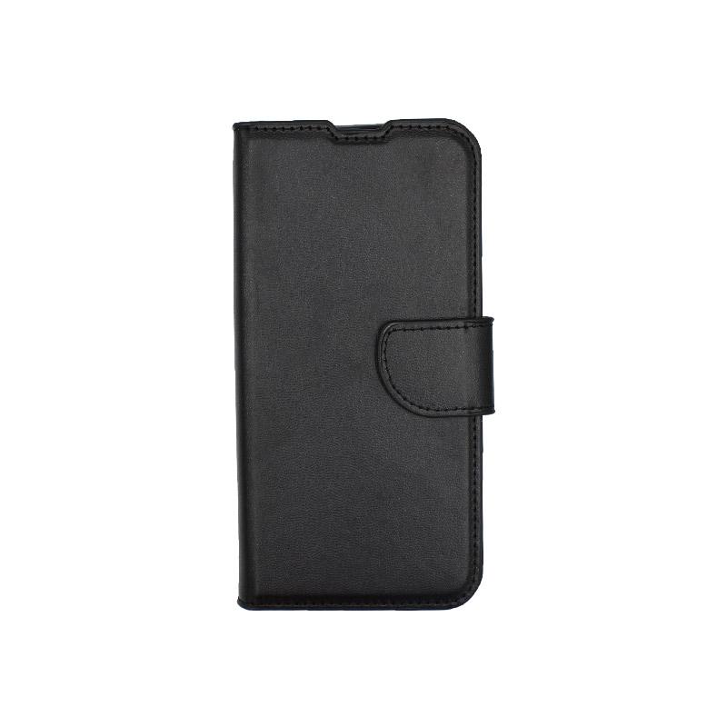 θήκη Xiaomi Mi 9 SE πορτοφόλι με κράτημα μαύρο 1