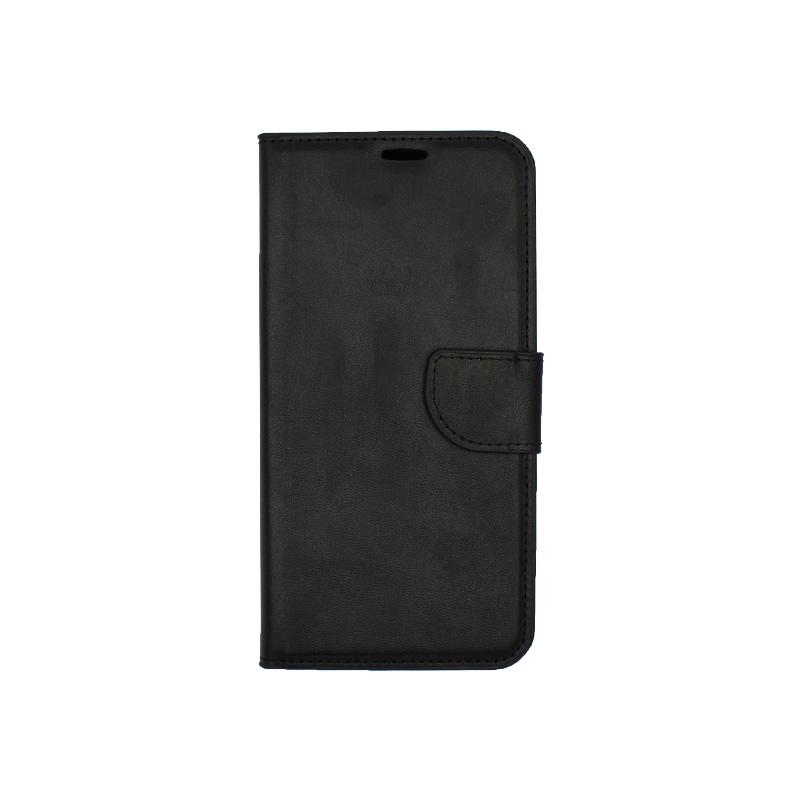 Θήκη Huawei Mate 20 Lite πορτοφόλι μαύρο 1