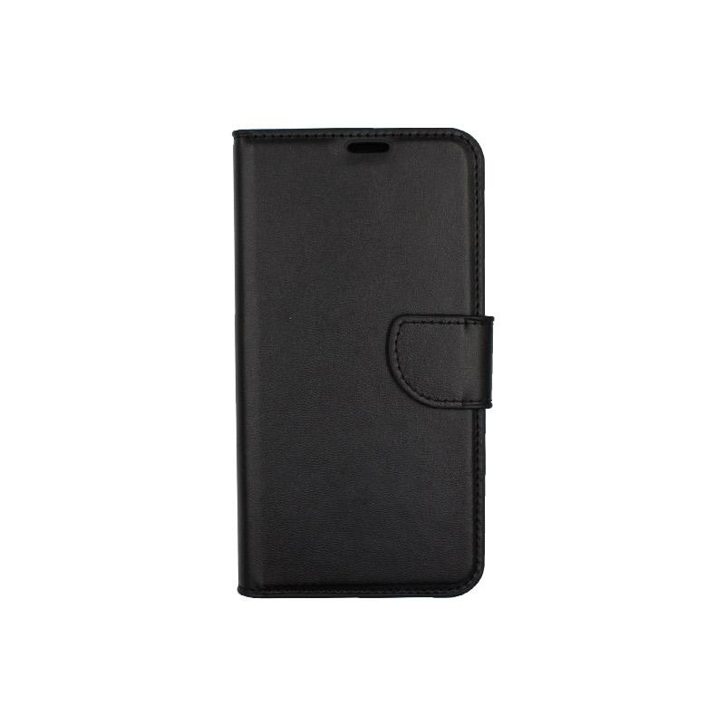 Θήκη Xiaomi Redmi Note 6 Pro πορτοφόλι μαύρο 1
