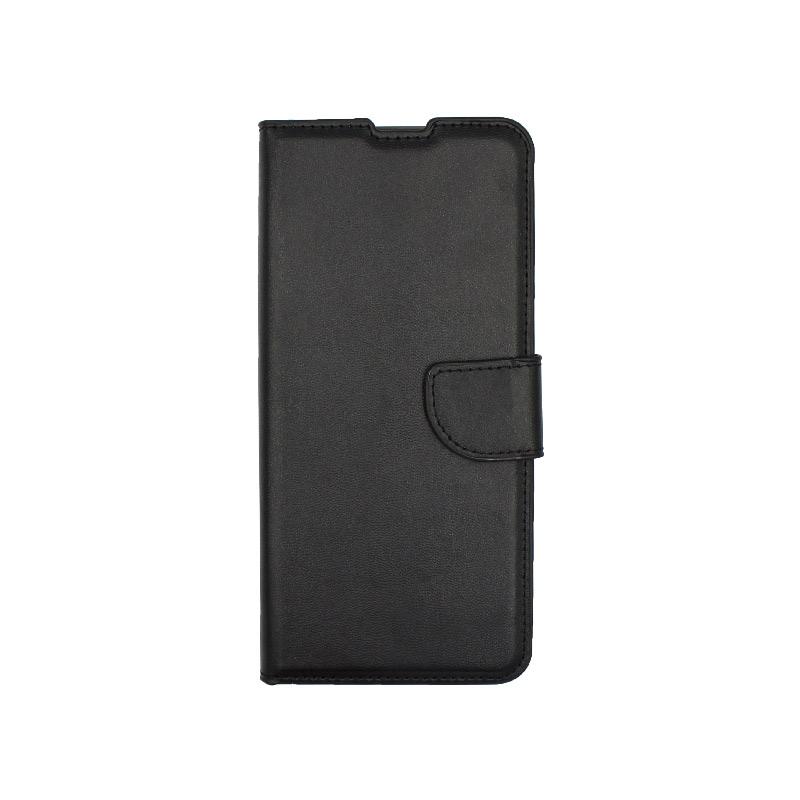 θήκη Xiaomi K30- K30 5G πορτοφόλι με κράτημα μαύρο 1