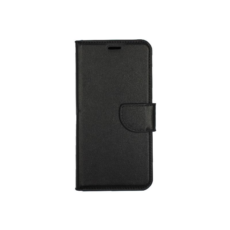 θήκη Xiaomi Pocophone F1 πορτοφόλι με κράτημα μαύρο 1