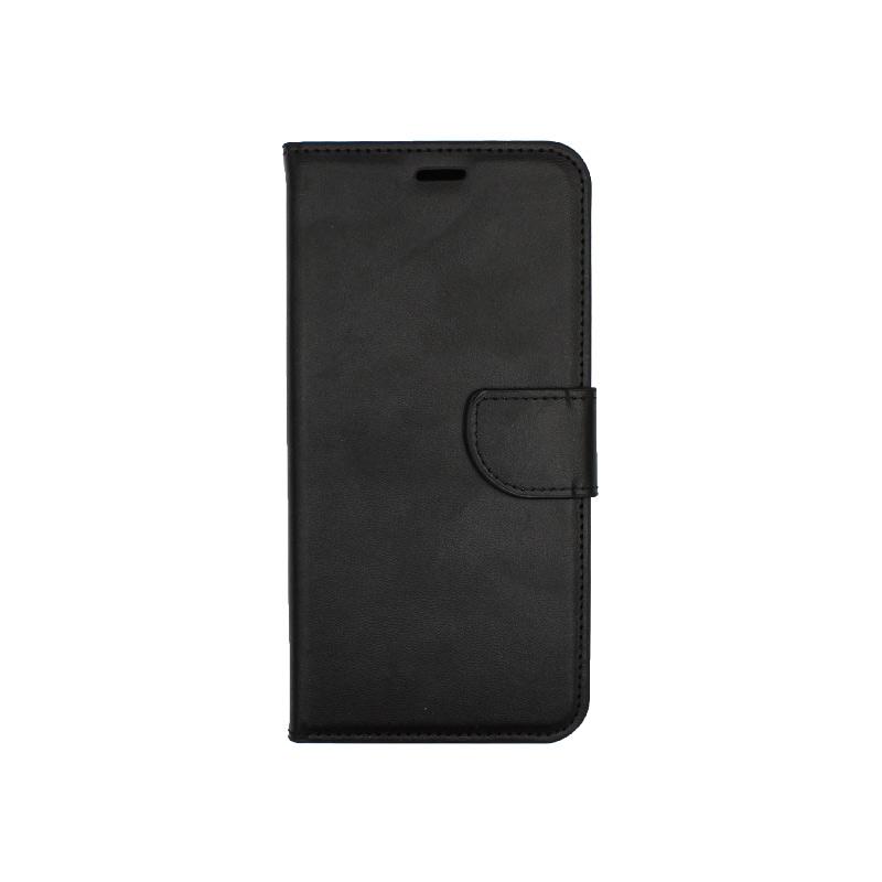Θήκη Huawei Y9 2019 πορτοφόλι μαύρο 1