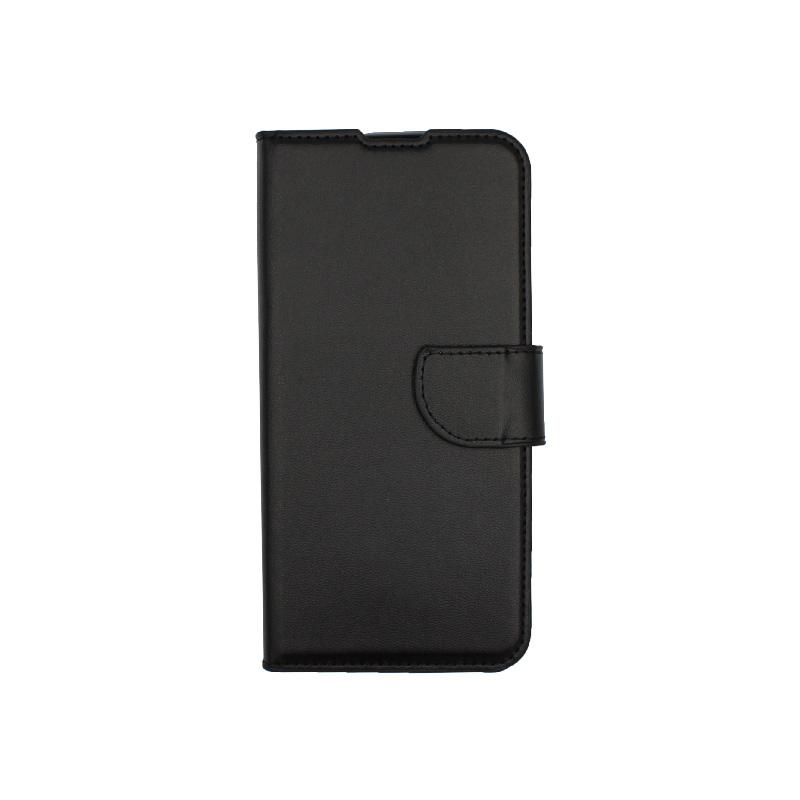 Θήκη Xiaomi Redmi 7 πορτοφόλι μαύρο 1